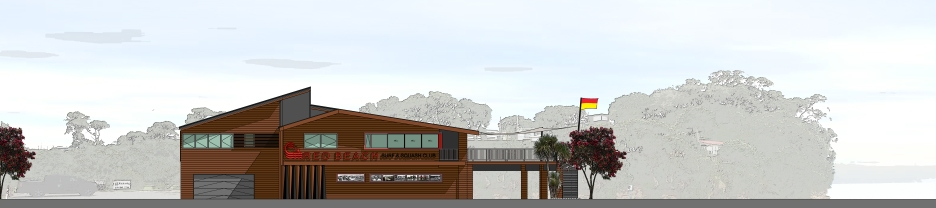 Red Beach Surf and Squash Club Proposed