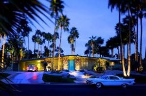 Palm Springs 'Alexander Home' designed by Architect Charles Du Bois in 1963